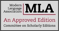 MLA Committee on Scholarly Editions: An Approved Edition